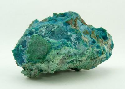 Bijouterie Azurite 24100 Bergerac. Chrysocolle, minéral brut, Chili