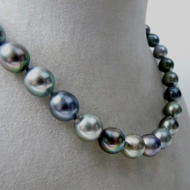 collier perle de tahiti or