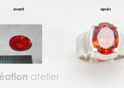 Creation-bague-opale-de-feu0081_Bijouterie-Azurite-Bergerac